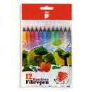 Фломастер 12цветов ICO