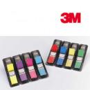 Закладки ярлычки цветные пластиковые  4цв.Post-it 3М