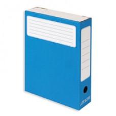 Архивный короб картонный ATTACHE 75мм синий