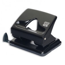 Дырокол 30 листов SAX 406 черный