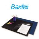 Коврик на стол Bantex черный с прозрачным листом 49*65 см