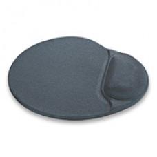 Коврик для мышки с гелевой подушкой серый