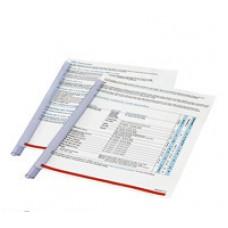 Скрепшины Durable на 30 лист. прозрачная