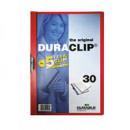Папка с клипом Durable DuraClip