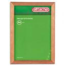 Рамка для сертификатов 21х30  (светлая.сосна)