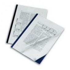 Папка-скоросшиватель DuraGrip черный (5скрепшин+5 обложек)