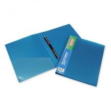 Папка-скоросшиватель пружинный Attache М612 металлик синий