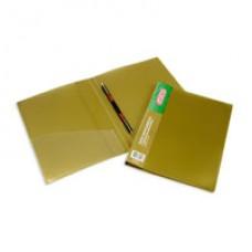 Папка-скоросшиватель пружинный Attache М612 металлик бронзовый