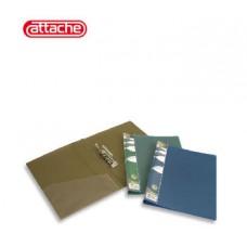 Папка с прижимом  Attache металик (бронза.)