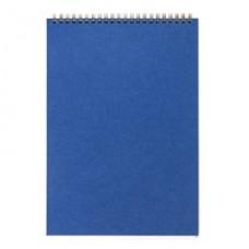 Блокнот А-4 60 лист, ATTACHE, клетка,  синий