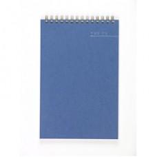 Блокнот А-5 60 лист, ATTACHE,на спирали,обложка синяя