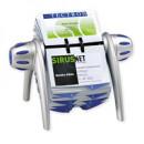 Визитница Durable Visifix Flip на 400 карт,вращающ, сине/серебристая
