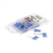 Силовые флажки Durable 25шт синие