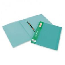Папка-скоросшиватель пружиный Attache пластик прозрачно-зеленый