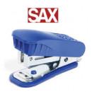Степлер SAX 329 24/6 Mini синий