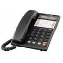 Телефон Panasonic KX-TS 2365 RU черный с дисплеем