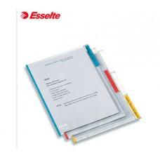 Папка-уголок  Esselte Desk Free с вертикальной маркировкой А4, 6