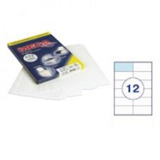 Самоклеющиеся этикетки 105*48 (12шт на А-4) 100 л