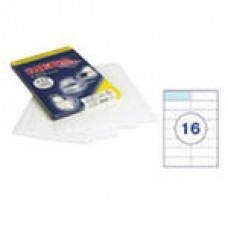 Самоклеющиеся этикетки 105*37 (16шт на лист) 100 л