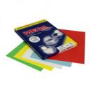 Самоклеющиеся этикетки 210*297  А-4 (100листов) голубая