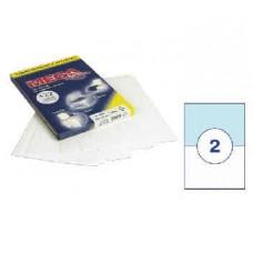 Самоклеющиеся этикетки 105*74(8шт/лист ,А-4)   25 л