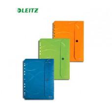 Папка-конверт на кнопке Leitz Vivanto  А4, с перфорацией, набор