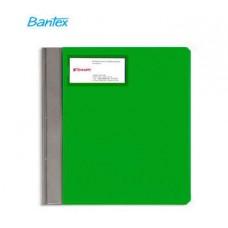 Папка-скоросшиватель Bantex с карманом для визитки зеленый