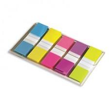 Закладки-ярлычки цветн.пластик 5цв.Post-it 3М