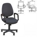 Кресло офисное Комфорт GTP цвет серый