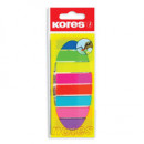 Закладки набор KORES-Film 8 цветов на линейке
