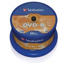 Диск DVD-R на шпинделе  Verbatim  50 шт