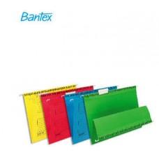 Папка подвесная Bantex голубого цвета 25 шт