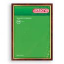 Рамка для сертификатов А-4 21*30 Attache,пластик, красное дерево