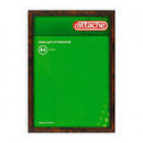 Рамка для сертификатов 21*30 ATTACHE А-4 под орех
