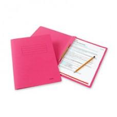 Папка-скоросшиватель Bantex 3300  А4, красный, картонный