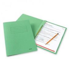 Папка-скоросшиватель Bantex 3300  А4, зеленый, картонный