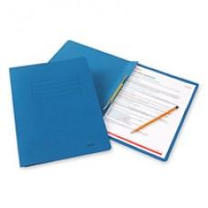Папка-скоросшиватель Bantex 3300  А4, синий, картонный