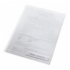 Папка-уголок Leitz CombiFile,А4, прозрачная, с плотной последней